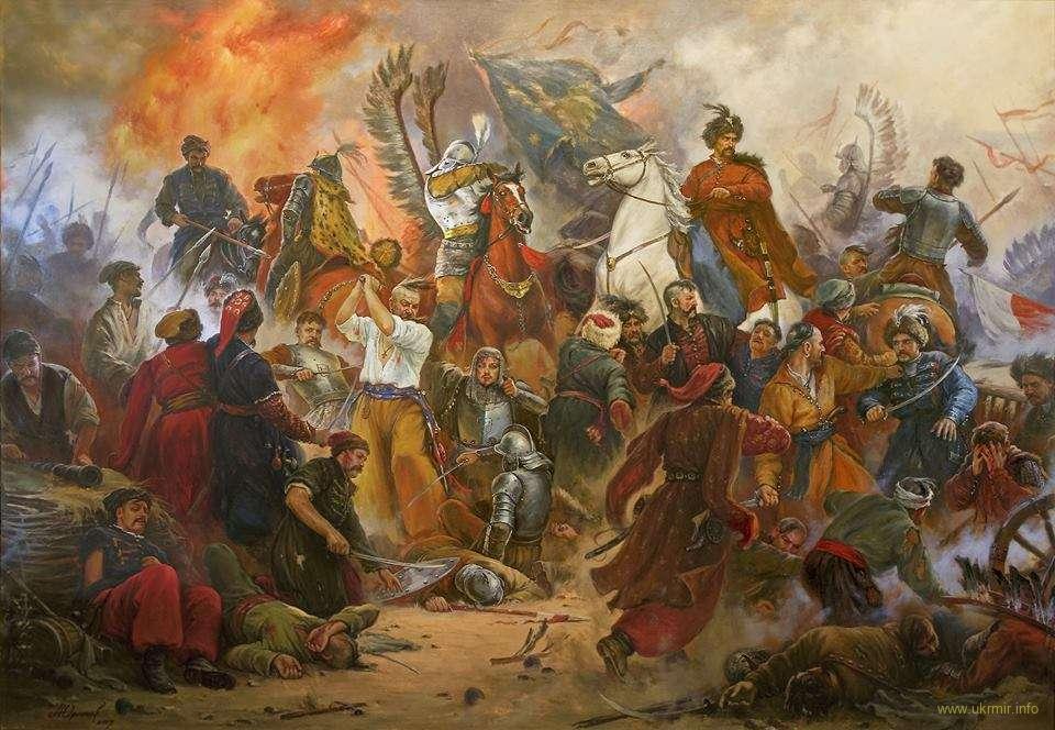 Картина известного художника Студии украинского батального искусства Артура Орленова с его страницы в ФБ
