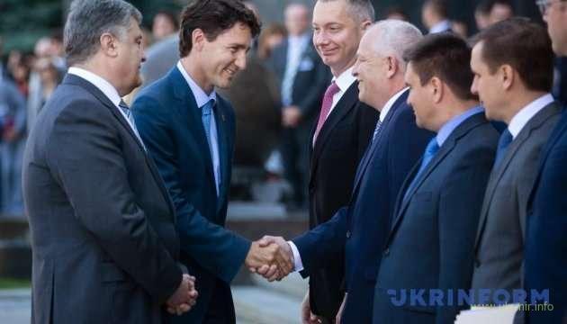 В рамках визита в Украину премьер-министра Канады Джастина Трюдо подписано украинско-канадское Соглашение о свободной торговле.