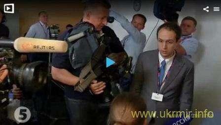 Порошенко ответил российским журналистам