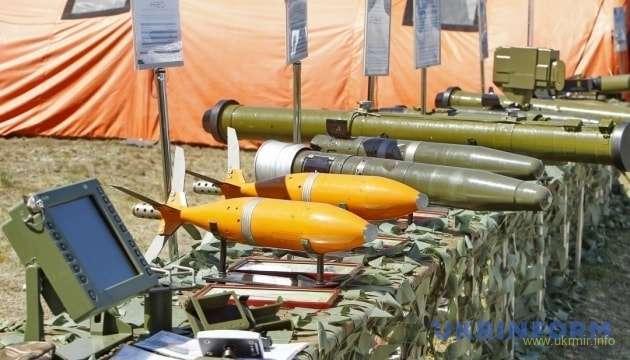 Украинская армия получила свыше 110 единиц вооружения