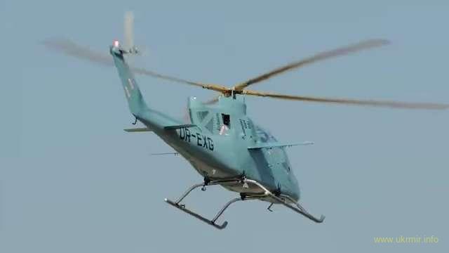Перший політ нового українського гвинтокрила VV2
