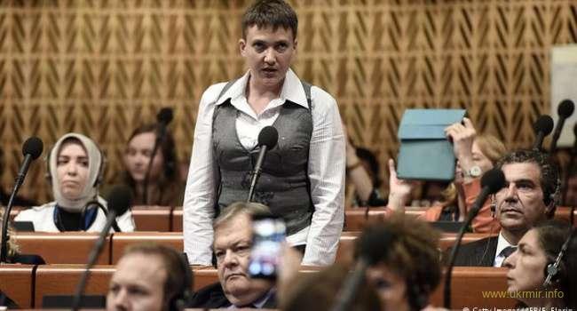 Мирослав Олешко: Савченко пытается вернуть Россию в ПАСЕ!