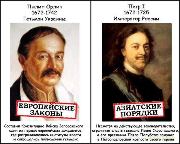 344 года назад родился выдающийся украинский государственный деятель, гетман Украины Пылып Орлык