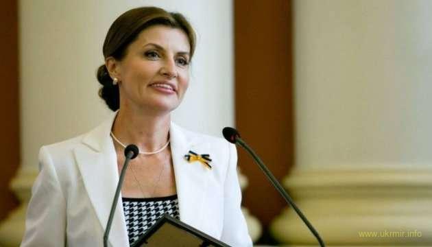 Марина Порошенко подписала грант на инклюзивное образование