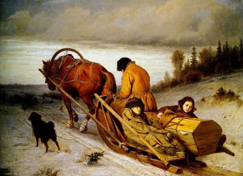 «Проводы покойника» — РФ, сегодня и 152 года назад