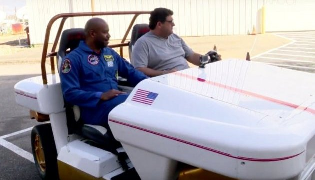 An exclusive look at NASA's MRV space car