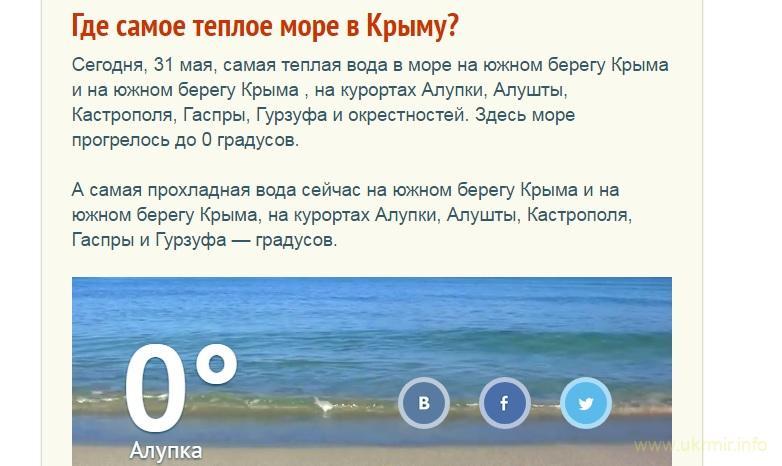 Почему в Крыму сегодня на пляжах нет отдыхающих