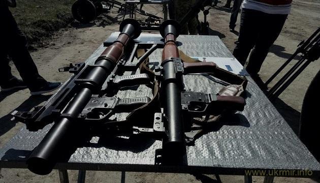 Завод Маяк представив новий гранатомет українського виробництва РПГ-М7
