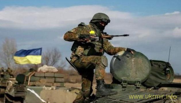 На Донбасі один військовий ЗСУ загинув, дев'ятеро поранені