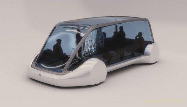 Маск показал беспилотный электробус для подземных тоннелей