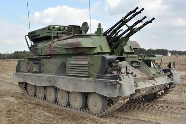 Украина модернизирует свои зенитные самоходные установки «Шилка»
