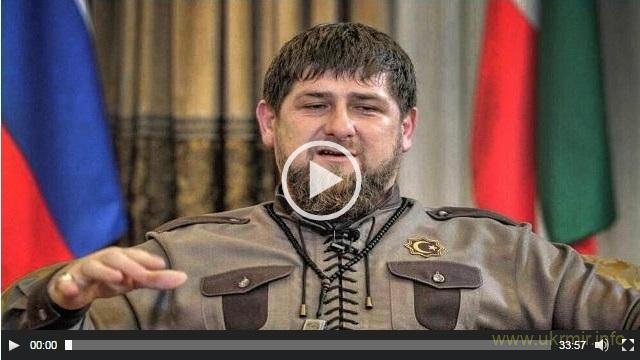 Герой россии Рамзан Кадыров режет головы русским солдатам