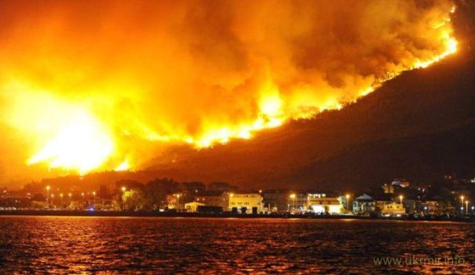 У Хорватії і Чорногорії вирують лісові пожежі