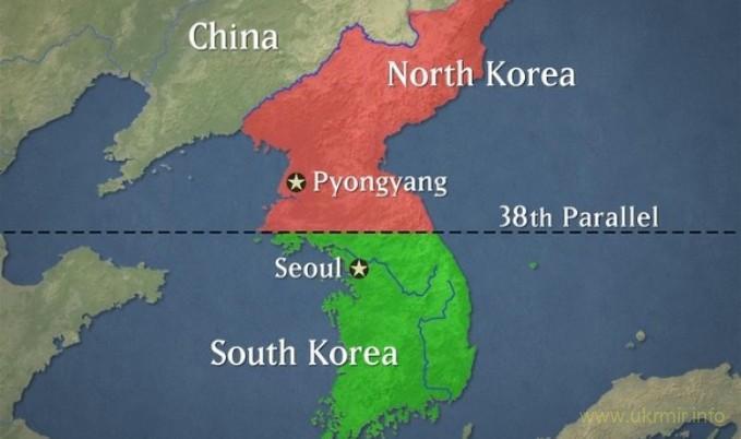 Два сверхзвуковых бомбардировщика ВВС США пролетели над Корейским полуостровом