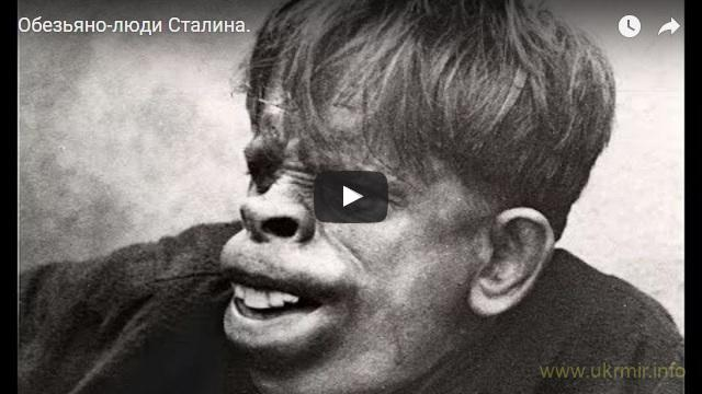 Обезьяно-люди Сталина