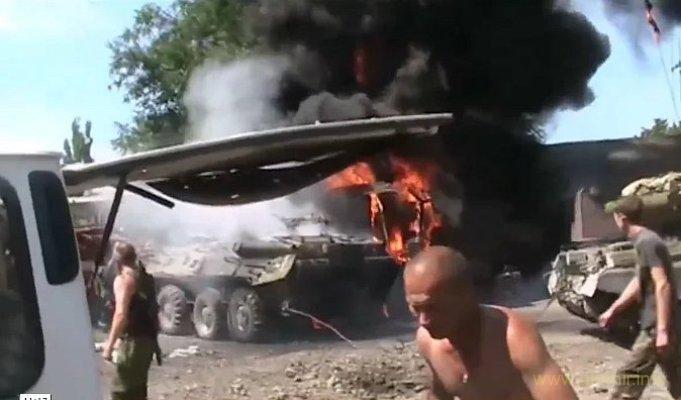 Убитые и раненые наемники после обстрела ВСУ