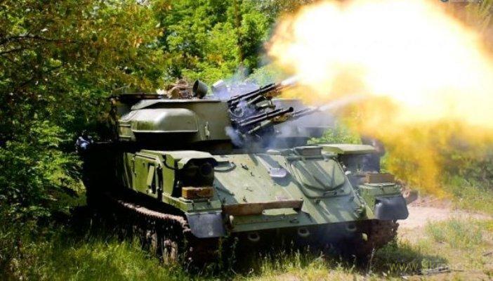 """Зенітно-гарматний комплекс ЗСУ-23-4 """"Шилка"""""""