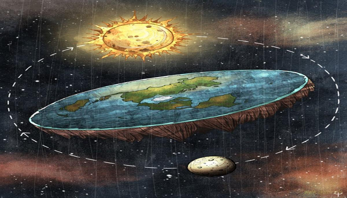 В мире все больше людей верят в плоскую Землю