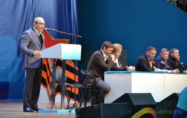 Сепаратист Добкін хоче вплинути на майбутні вибори