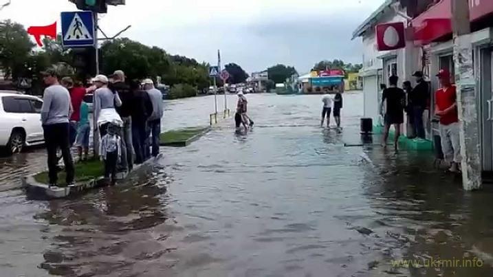 Потоп в Приморье. Уссурийск ушел под воду