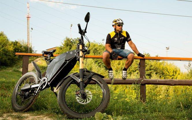 Украинский стартап создал электробайк с самым длинным в мире запасом хода