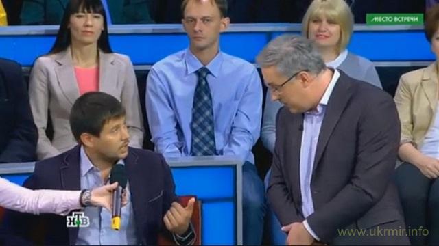 Украинского политолога выгнали из студии НТВ за сказанную им правду