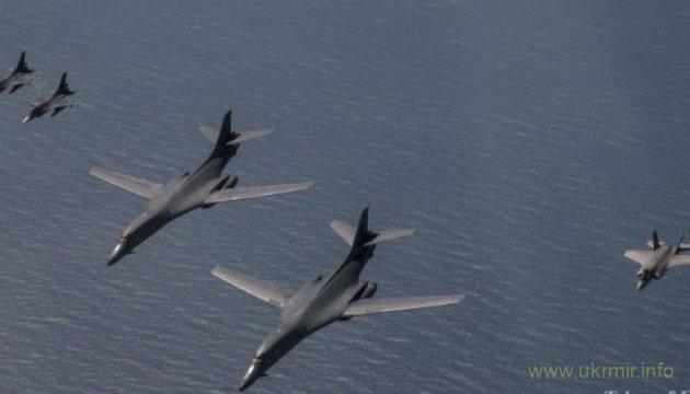 Бомбардировщики США совершили полет возле КНДР