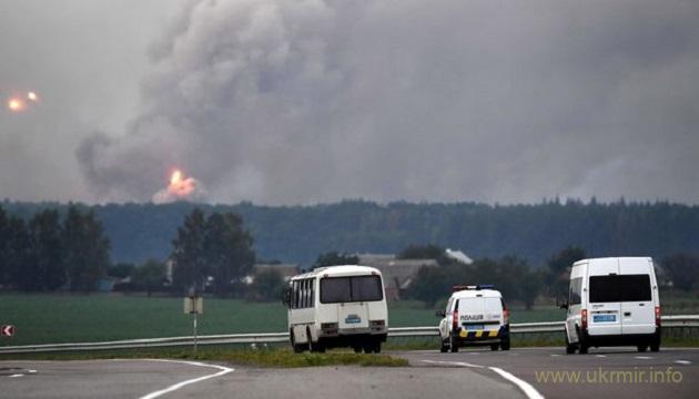Пожар на складах в Калиновке локализован – ГСЧС
