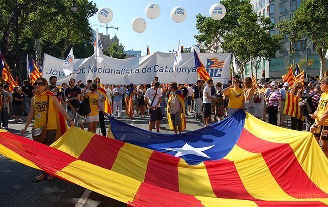 Идиотам которые проводят параллели между Каталонией и «ЛДНР»