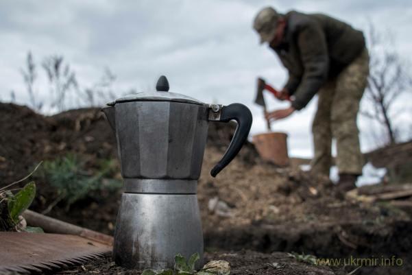 Не мешайте солдатам пить кофе