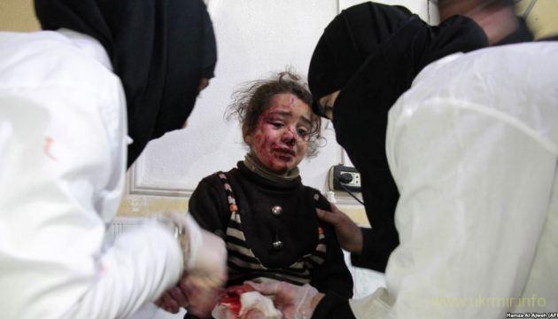 В Сирии опять применили химическое оружие