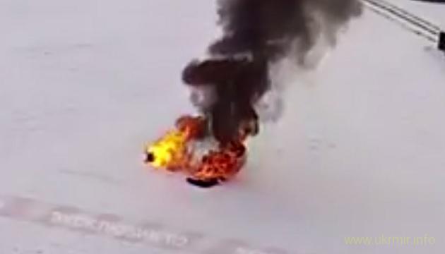 Акт самосожжения в г. Ишимбай