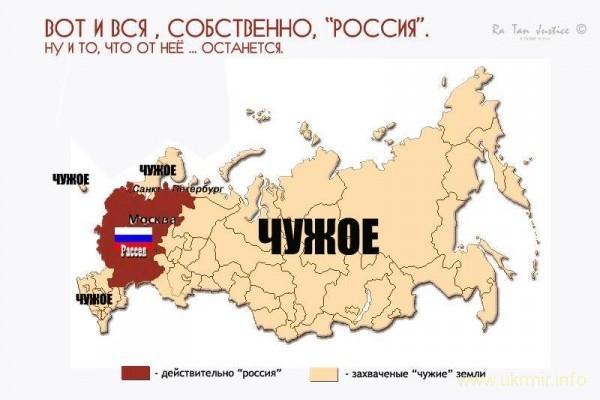 Россияне свято верят, что история Украины - их собственная