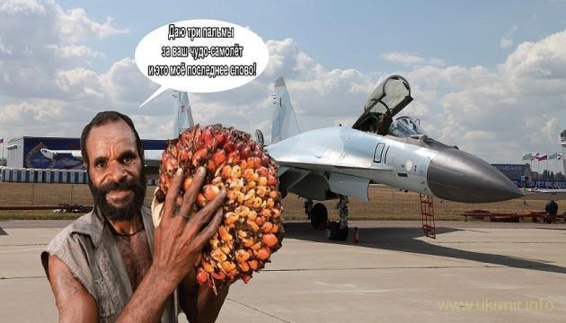 Россия меняет истребители на пальмовое масло и каучуковую крошку