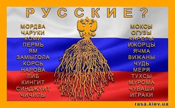 Вина за преступления Московии-России лежит не на путине, а на московитах-русских