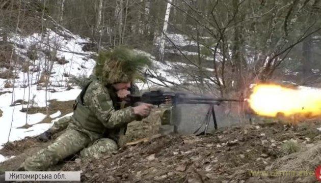 Тренування десантно-штурмових військ України