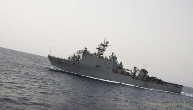 В Черное море вошел корабль США с морскими пехотинцами на борту