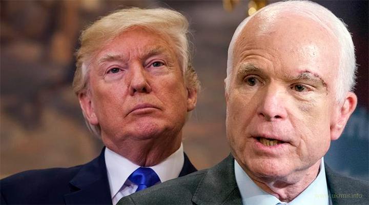 Маккейн призвал нанести ракетный удар по Асаду