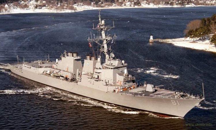 """В Средиземное море вошел американский эсминец с """"Томагавками"""""""