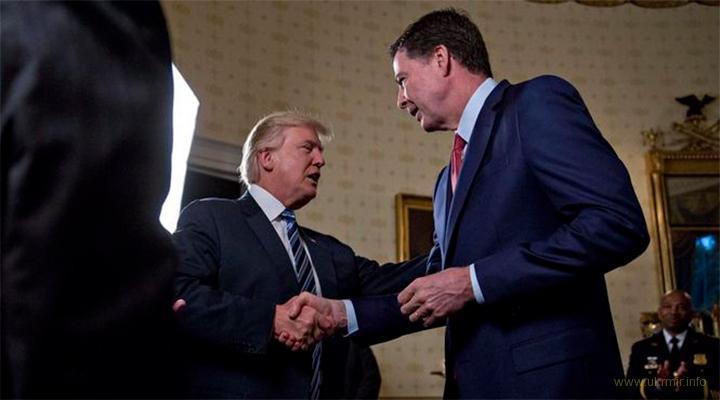 Экс-глава ФБР Джеймс Коми - Трамп морально не пригоден быть президентом США