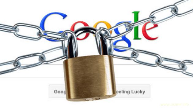 На России начали масштабную блокировку Google