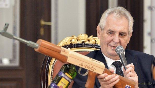 Президент Чехии Земан на службе у Кремля