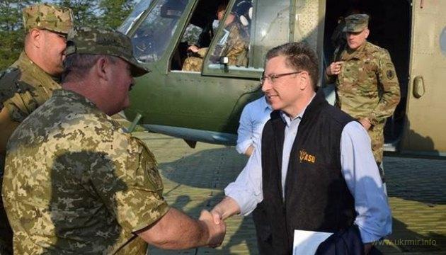 Волкер рассказал о цели своего визита на Донбасс