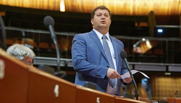 Делегация Украины отказалась от приема у Ягланда