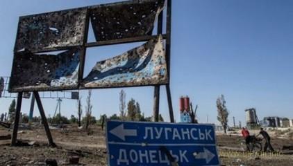 Русские фашисты уничтожают сёла Донбасса, где они не могут бесчинствовать