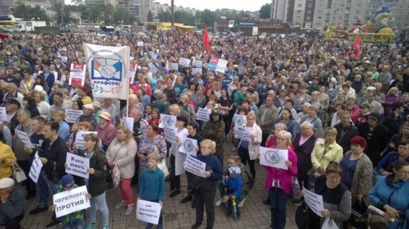 Череповец замайданил - 6 000 участников