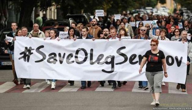 В Киеве сегодня пройдет акция ко дню рождения Сенцова