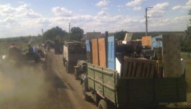Вывозили даже двери и заборы: россиянин рассказал, как с Донбасса на РФ вывозили имущество
