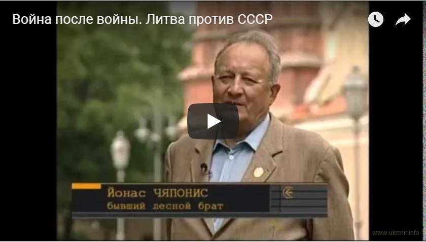 Война после войны. Литва против СССР