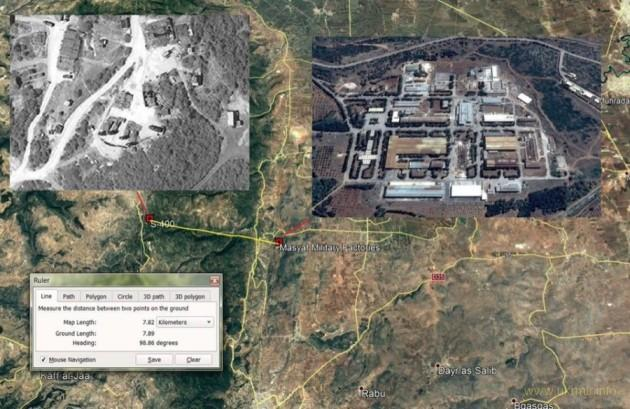 ВВС Израиля нанесли ракетный удар по асадитам, С-400 опять кривизна земли помешала